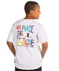 Youth St. Jude Patient Art-Inspired Splatter Caleb T-shirt
