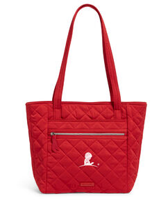 Vera Bradley® Quilted Small Red Tote Bag
