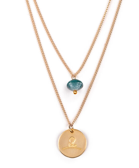 St. Jude Layered Necklace by Sabrina Soto & 31 Bits