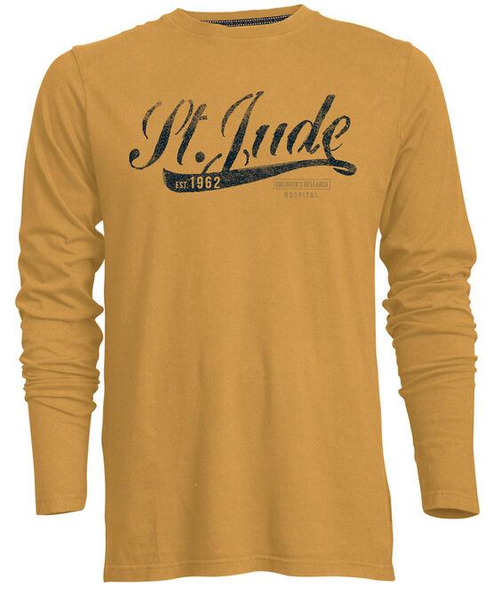 Unisex  Vintage Script Washed-Out T-Shirt