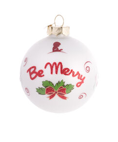 "Be Merry 3"" Diameter Ornament"