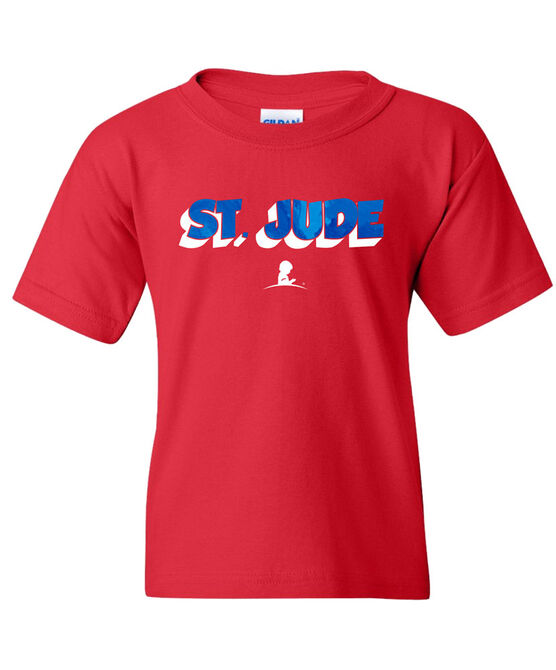 Youth Shadow Font Short Sleeve T-Shirt