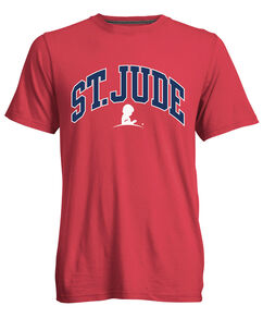 St. Jude Collegiate-Style Red T-shirt