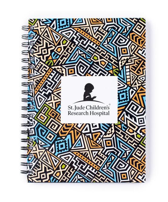 Geo Abstract Design Spiral Notebook