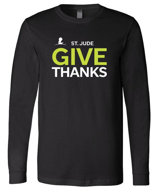 2021 Unisex Long Sleeve Give Thanks T-Shirt