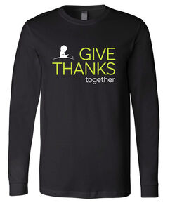 2020 Unisex Long Sleeve Give Thanks T-Shirt