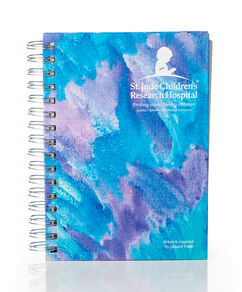 Patient Art Inspired Spiral Journal