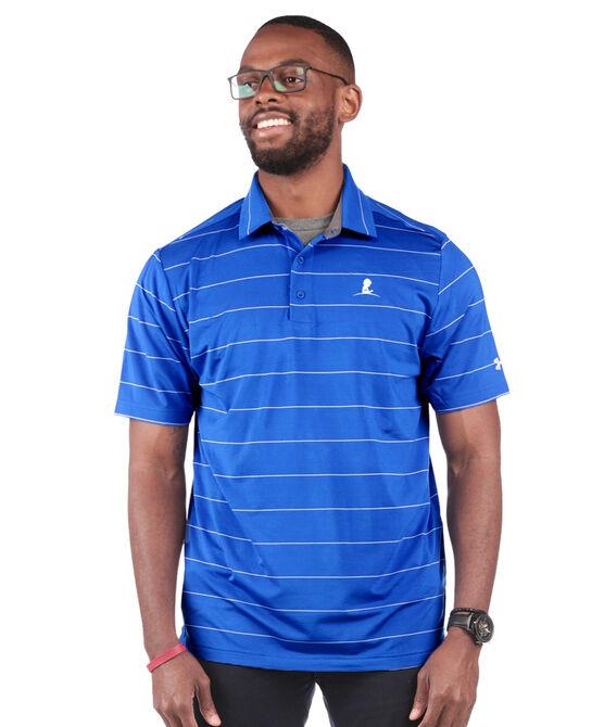 Men's Under Armour Wide Stripe Golf Shirt