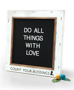 Blessings Framed Letter Board