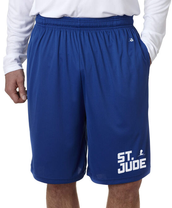 """Athletic 10"""" Shorts with Pockets"""
