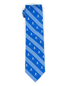 Regimental Blue and Navy Silk Necktie