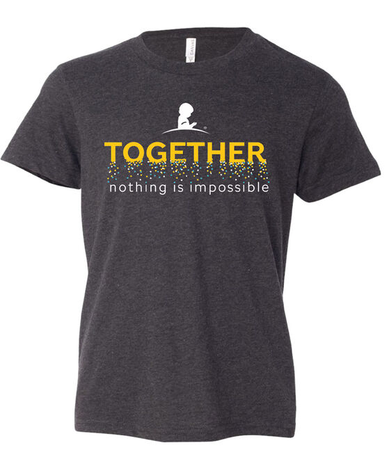 Youth Together Nothing Is Impossible Confetti T-Shirt