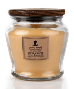 Wooden Wick Apple Dumpling Jar Candle