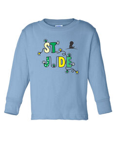 Toddler St. Jude Holiday Lights Long-Sleeve T-Shirt