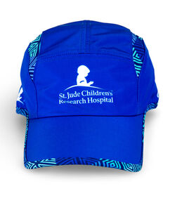 Adult Running Performance Blue Hat