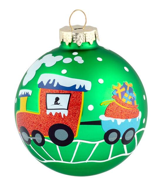 Snowy Train 3″ Ornament