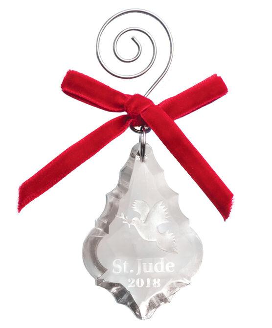 2018 Dove Crystal Ornament