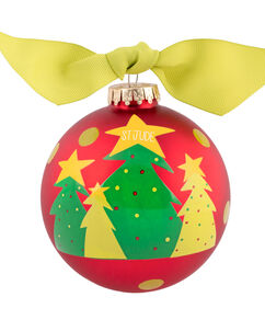 Christmas Trees 4″ Ornament