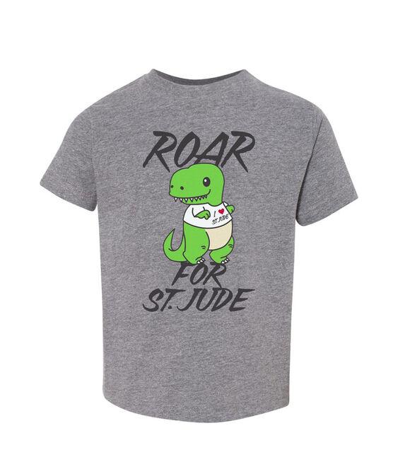 Dinosaur Grey Toddler T-Shirt