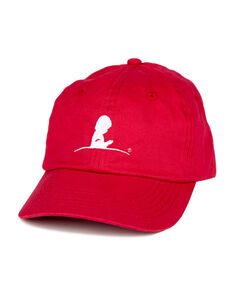Youth Baseball Cap - Red