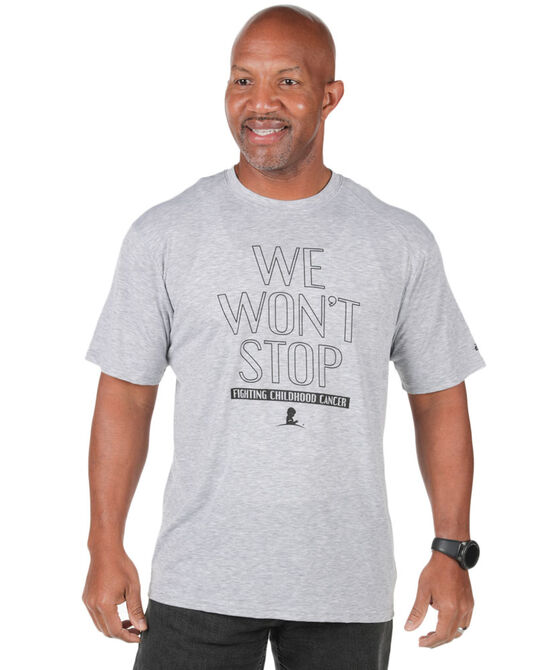 Men's We Won't Stop Performance T-shirt