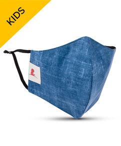KIDS Denim 2-ply Cotton Mask with Adjustable Straps