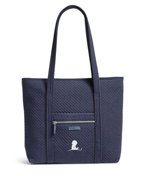 Vera Bradley® Navy Quilted Tote Bag