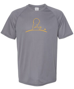 Men's Performance Gray T-Shirt