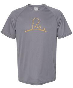 Men's Performance Gray T-Shirt