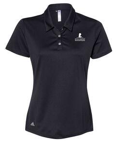 Women's Adidas® Performance Black Polo