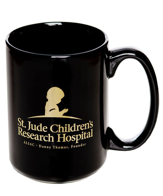 St. Jude Ceramic Coffee Mug - Black