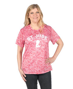 Ladies' Heathered Athletic Tee