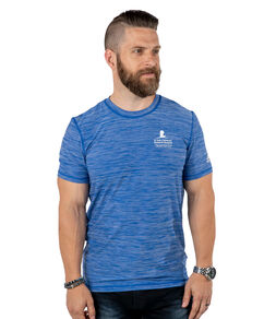 Adidas Unisex Performance Heather Blue T Shirt