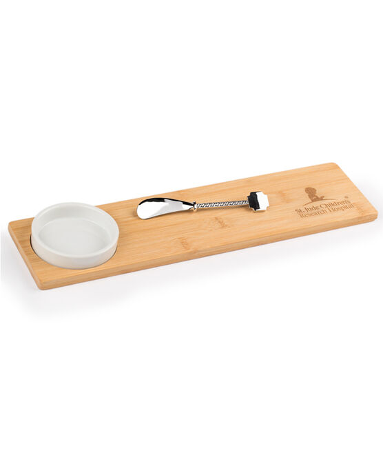 Bamboo Appetizer Serving Set
