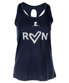 Women's Run Patient Art Heart Performance Tank