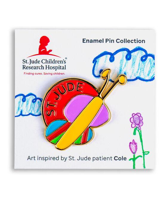 Patient Art Butterfly Enamel Pin - Cole