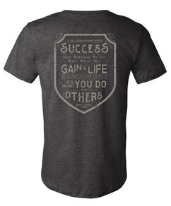 Success Shield Danny Thomas Quote Grey T-Shirt