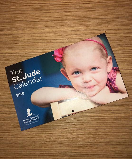 2019 St. Jude Desk Calendar