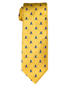 Brooks Brothers Gold and Blue Tie