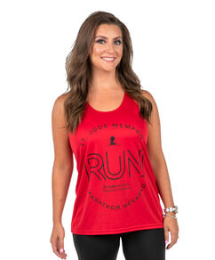 Ladies Performance Tank Top Red