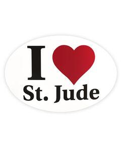 I Love St. Jude Sticker