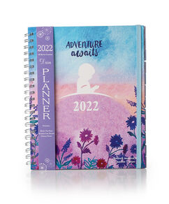 2022 Adventure Awaits Monthly Planner