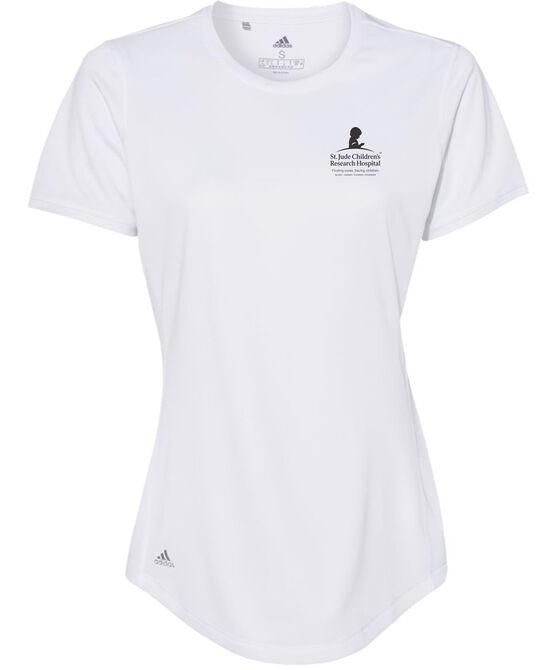 Women's adidas® White Performance Shirt