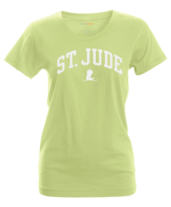 Women's St. Jude Collegiate Arch T-Shirt
