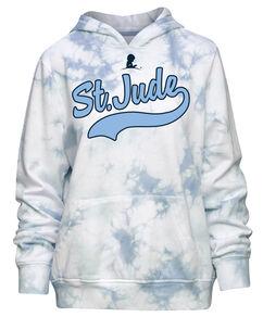 Tye Dye Blue & White Hoodie