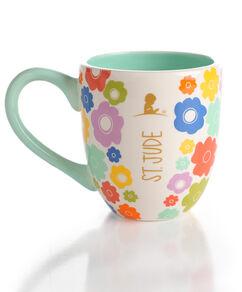 Floral Multicolored Ceramic Mug