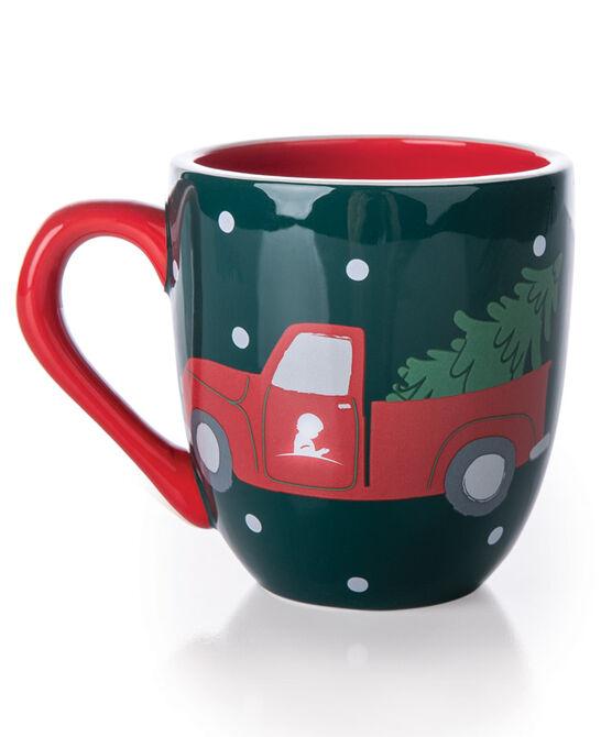 Red Truck & Tree 16 oz. Ceramic Mug