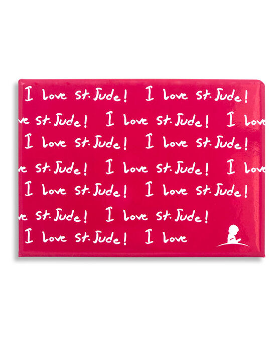 I Love St. Jude Red Laminated Magnet