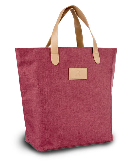 Heathered Red Tote