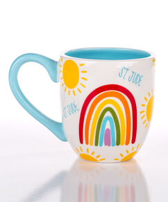 Rainbow Patient Art Ceramic Mug - 16oz.